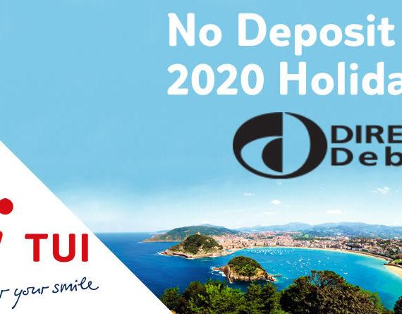 No Deposit TUI Holidays
