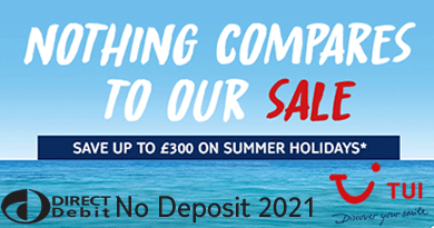 TUI 2021 early bird offers
